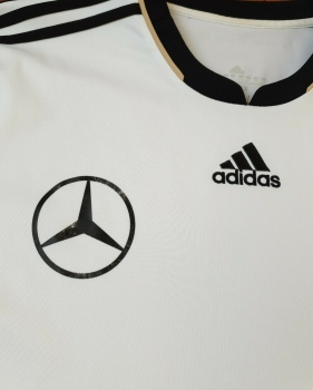 Adidas Germany jersey match worn 18 Toni Kroos 2010 home white Mercedes Benz DFB men's L (B-stock)