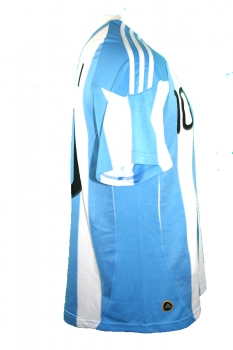 Adidas Argentina jersey 10 Lionel Messi world cup 2010 home new men's M