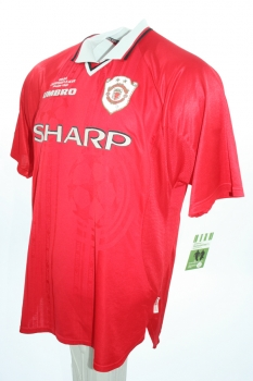 Umbro Manchester United jersey 7 David Beckham 1999/00 Champions League winners Sharp men's L/XL/XXL