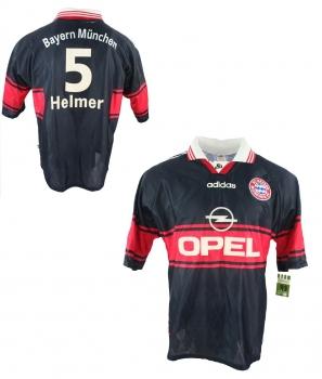 Adidas FC Bayern München Trikot 5 Thomas Helmer 1997 1999 CL Opel Heim Herren XL