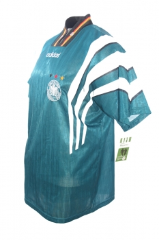 Adidas DFB Deutschland Trikot grün S Retro Kuntz liefert