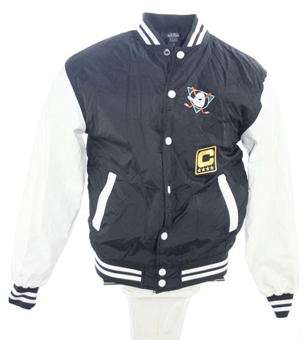 Urban Classics Anaheim Mighty Ducks college jacket Walt