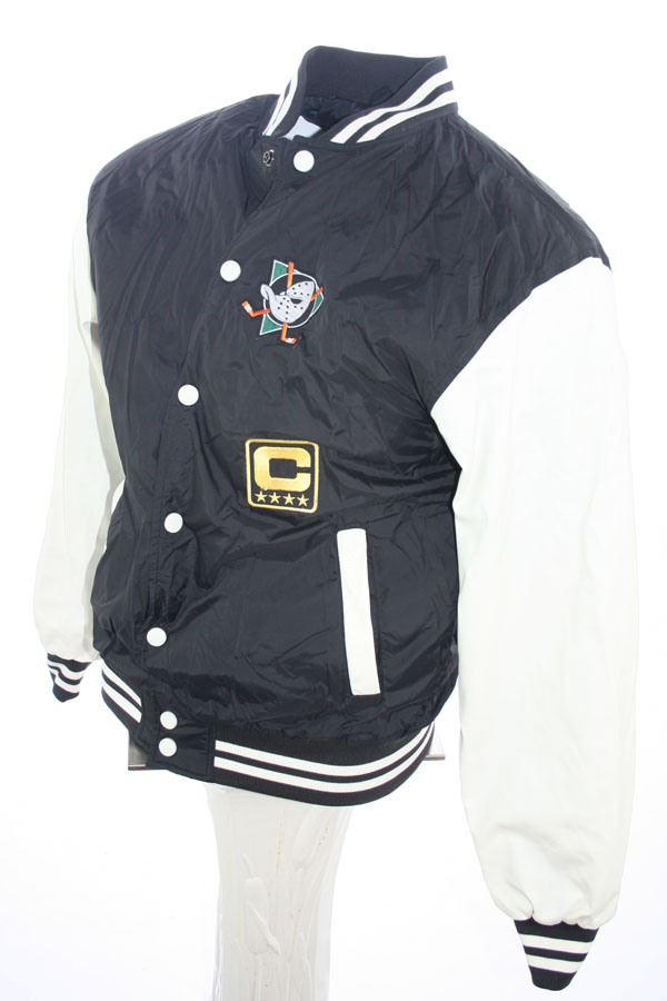 Urban Classics Anaheim Mighty Ducks college jacket Walt