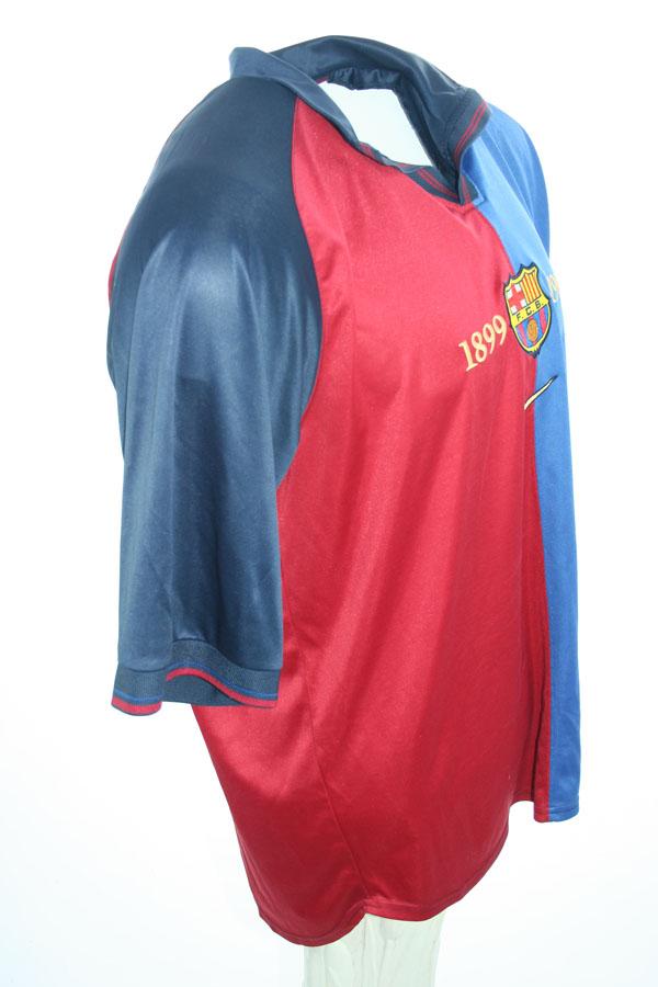 Nike FC Barcelona Trikot 11 Rivaldo 19992000 BlauRot Home