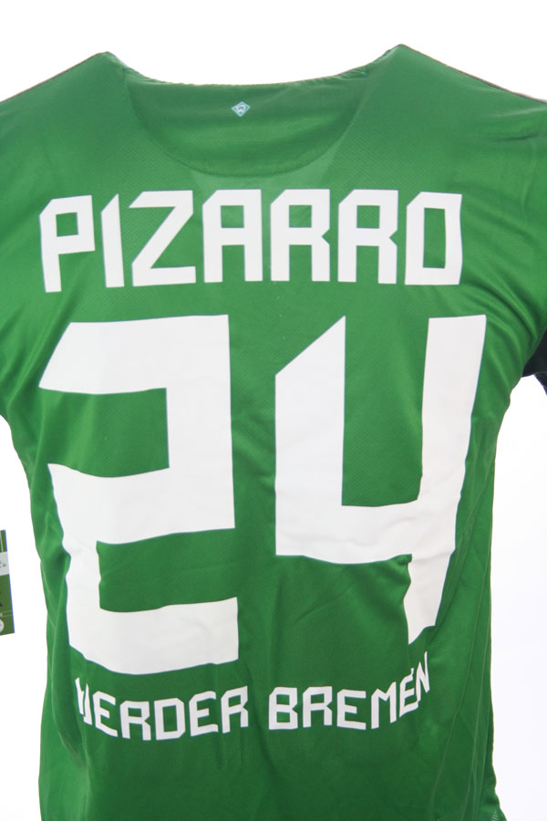 2010 11 Werder Bremen Nike Home Football Shirt (Kids)