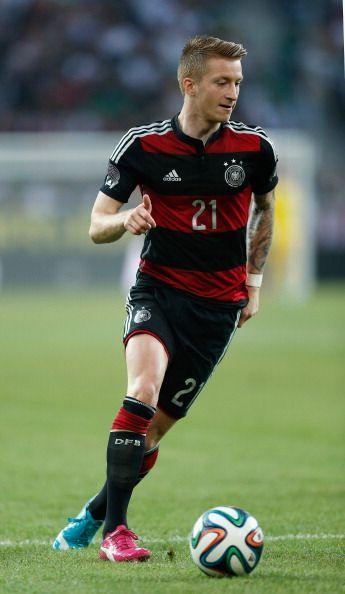 Deutschland Trikot Rot Schwarz