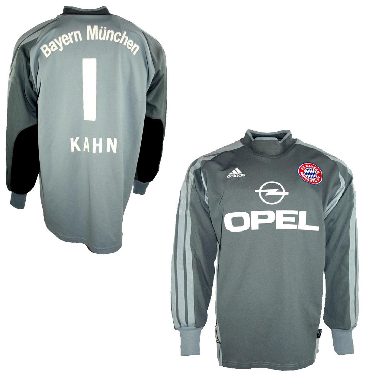 Adidas FC Bayern München Torwart Trikot 1 Oliver Kahn Opel