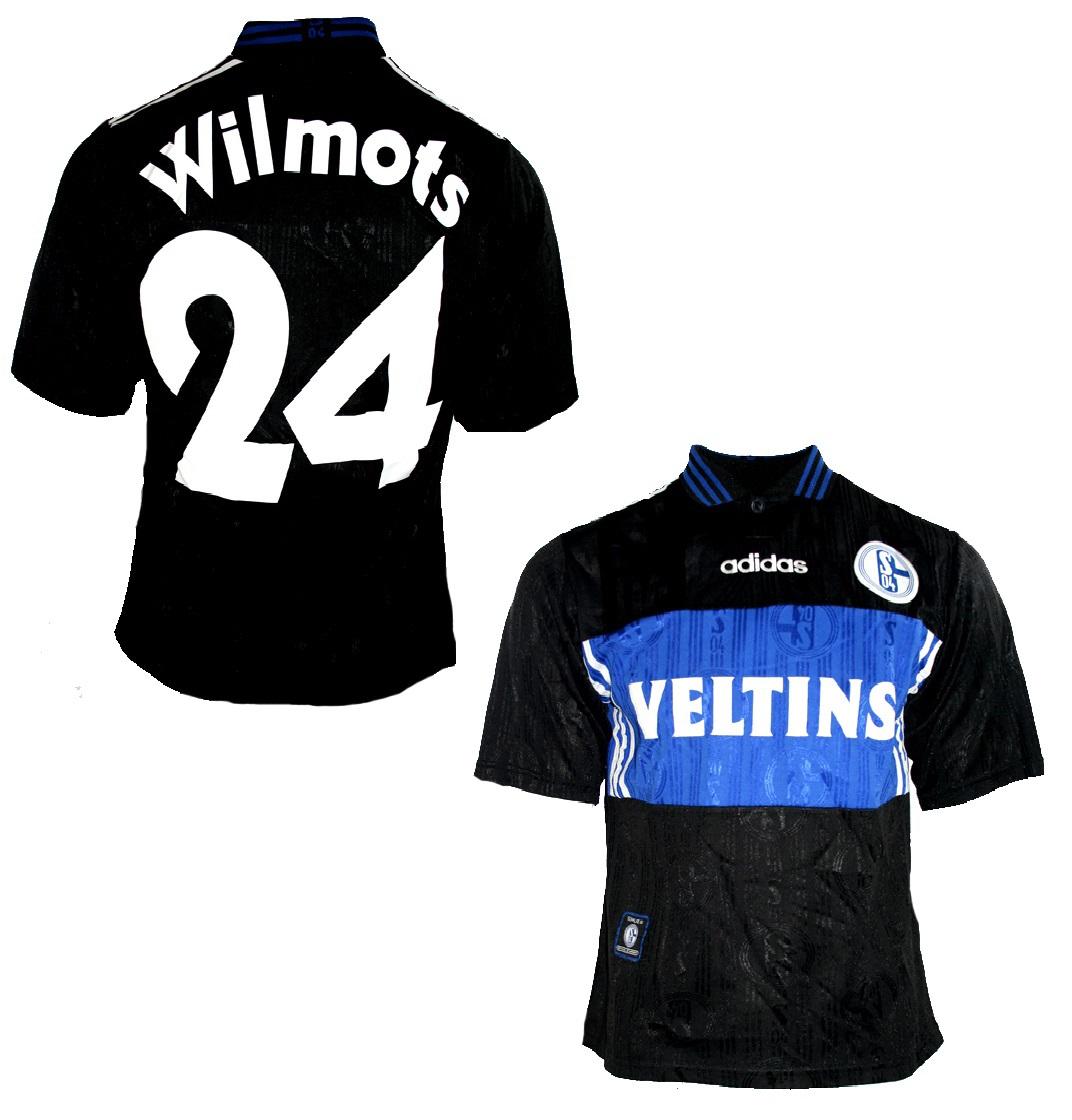 Adidas FC Schalke 04 Trikot 24 Marc Wilmots 199798 Veltins