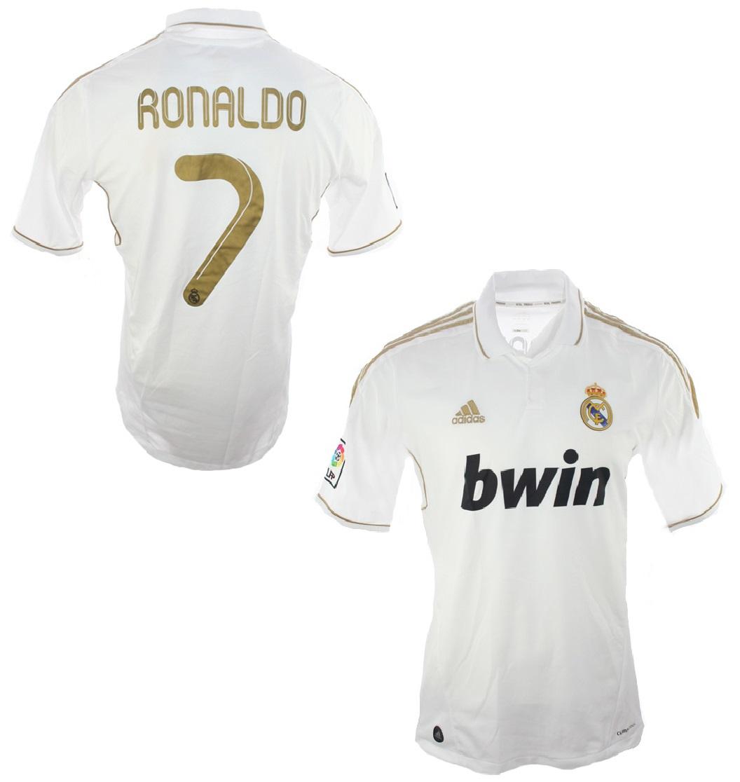 Adidas Real Madrid Trikot 7 Cristiano Ronaldo CR7 2011/12 ...