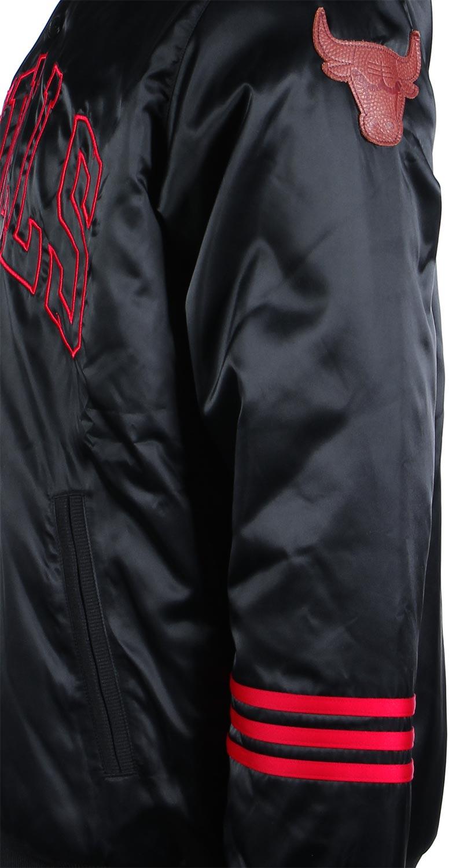 Adidas Chicago Bulls Jacke NBA Basketball Originals Satin