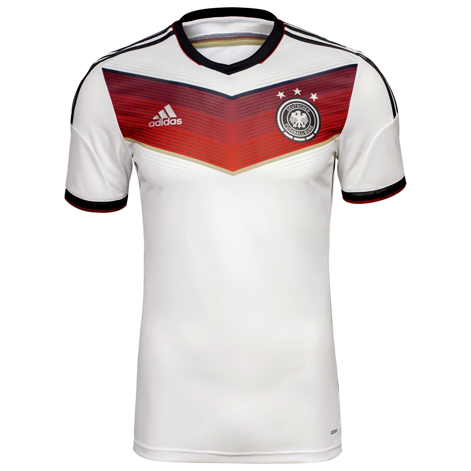 Adidas Deutschland Trikot WM 2014 DFB Heim Weltmeister Weiß