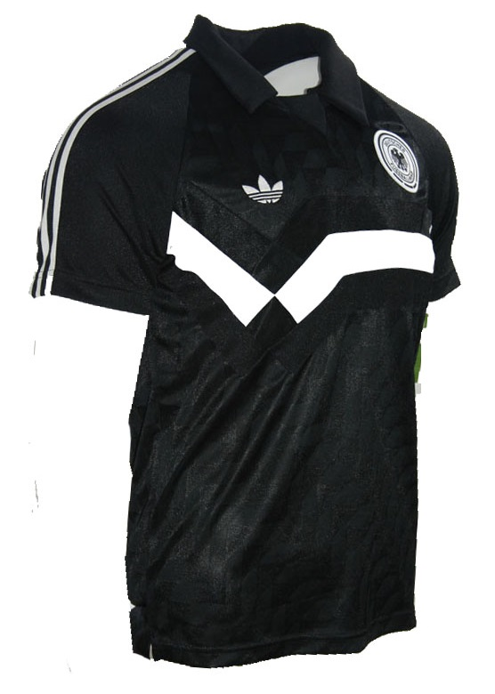 Adidas Originals Deutschland Trikot T shirt 1990 schwarz