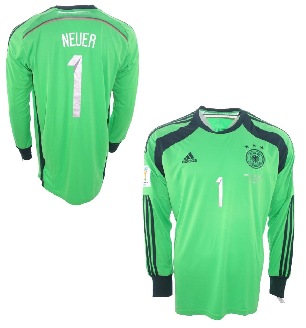 Adidas Deutschland Torwarttriikot 1 Manuel Neuer WM 2014 DFB