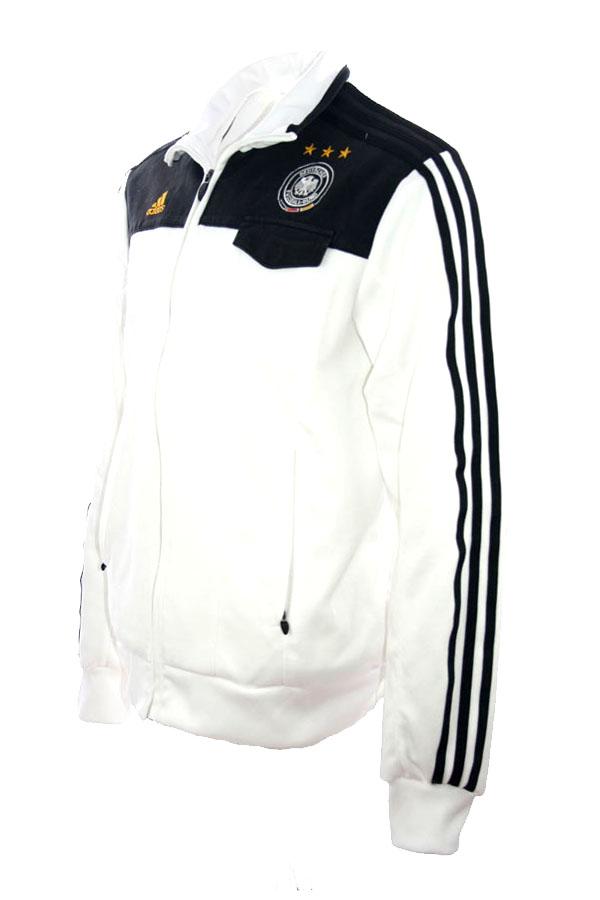 Adidas Deutschland Trainingsjacke WM 2014 DFB Jacke Weiß