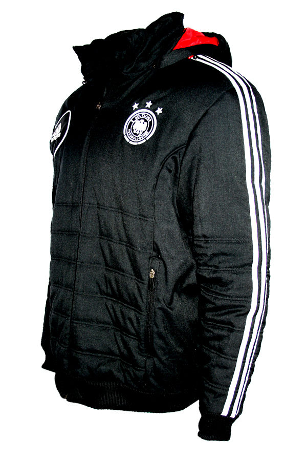Adidas Germany jacket Mercedes Benz Match Worn black men's S
