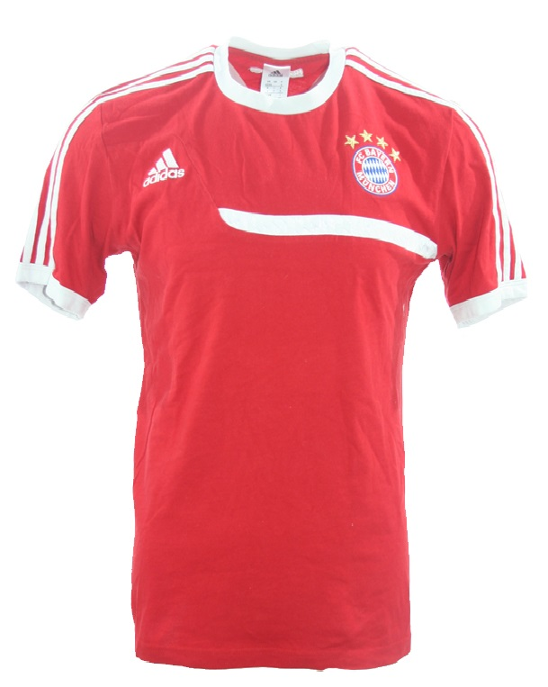 Adidas FC Bayern München Trikot T shirt retro rot Herren SM
