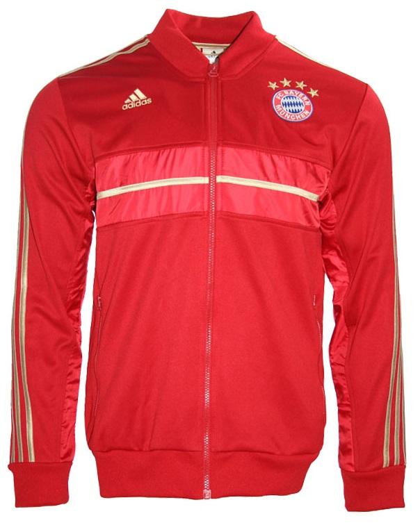 Bayern Rot München Adidas Trainingsjacke Jacke Heim Fc l3JcFK1T
