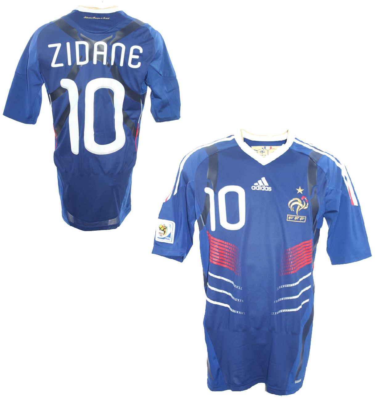 Adidas France Jersey 10 Zinedine Zidane World Cup 2010 Techfit Men S S M L Xl Xxl Shirt Buy Order Cheap Online Shop Spieler Trikot De Retro Vintage Old Football Shirts Jersey From Super Stars