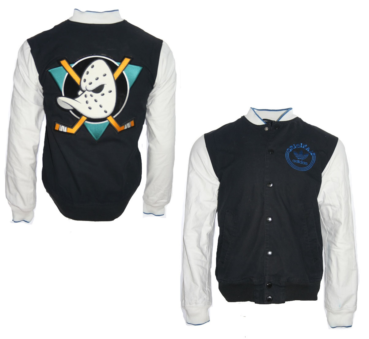 Adidas Originals Anaheim Mighty Ducks college jacket Walt