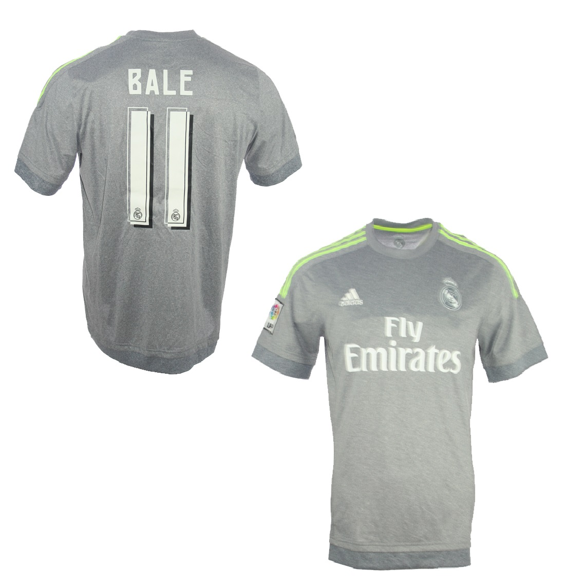 Adidas Real Madrid Trikot 11 Gareth Bale 201516 Away Grau