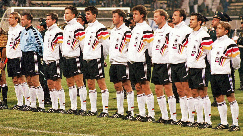 Adidas Deutschland T shirt Trikot 1996 DFB Euro 96 Herren S