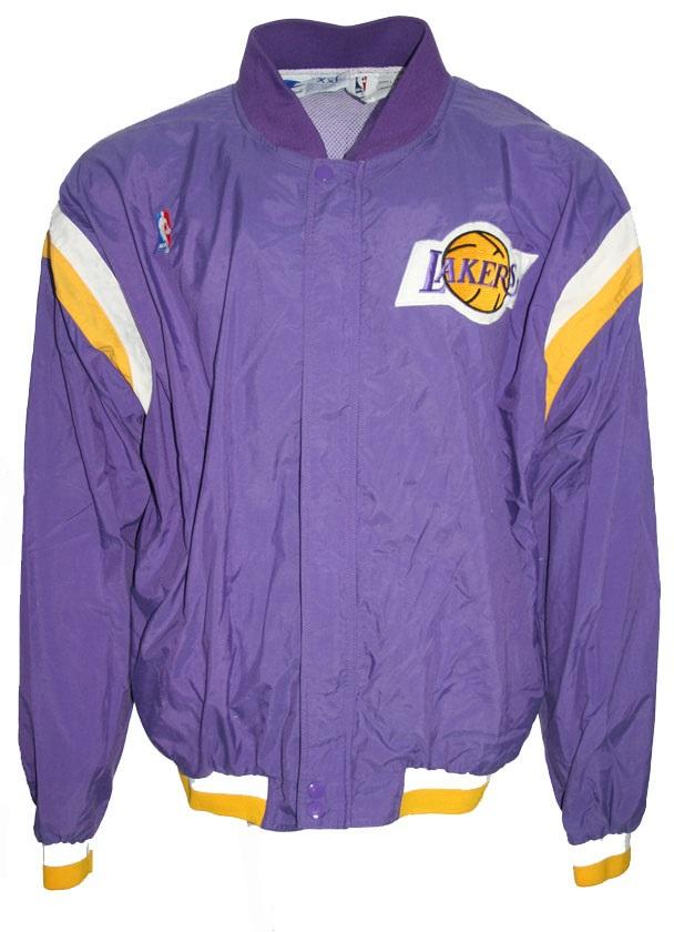 Champion Los Angeles Lakers Jacket LA college oldschool