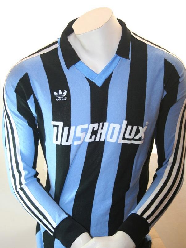 Adidas SV Waldhof Mannheim Adidas Trikot 1983/84 Duscholux ...