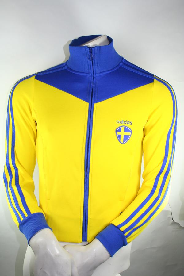 Adidas Schweden Retro Jacke TT WM 2014 Tracksuit Damen 36 (S