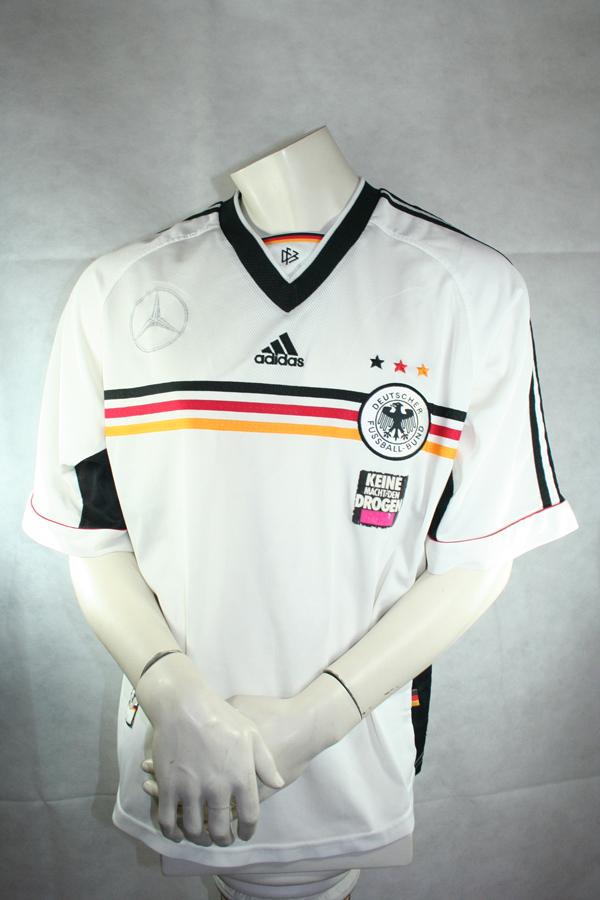 Adidas Deutschland Trikot 1998 Mercedes Benz Keine Macht den