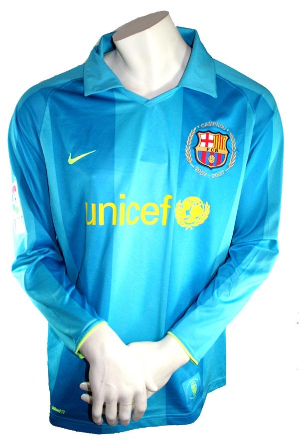 Nike Fc Barcelona Jersey 14 Thierry Henry 2007 08 Unicef Match Worn Away Blue Men S S M L Xl Xxl Football Shirt Buy Order Cheap Online Shop Spieler Trikot De Retro Vintage Old Football Shirts