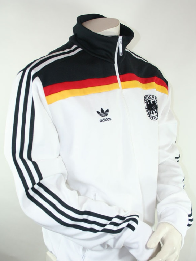 Deutschland 1990 90 Adidas Dfb Originals 1980 Jacke Tt 0POXN8nkZw