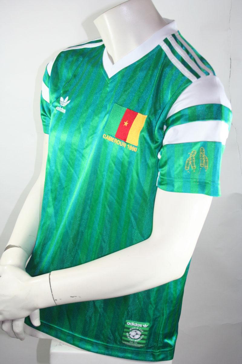 info for 61c04 7330e Kamerun Trikot Vintage Adidas Design in M 1982 Roger Milla