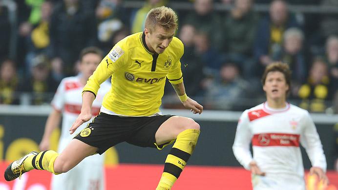 Puma Borussia Dortmund Trikot 11 Marco Reus 20122013 Heim