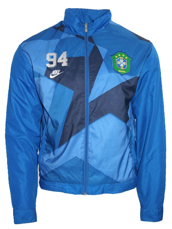 Nike Brasilien jacke WM 1994 Weltmeister 7 Bebeto 11 Romario