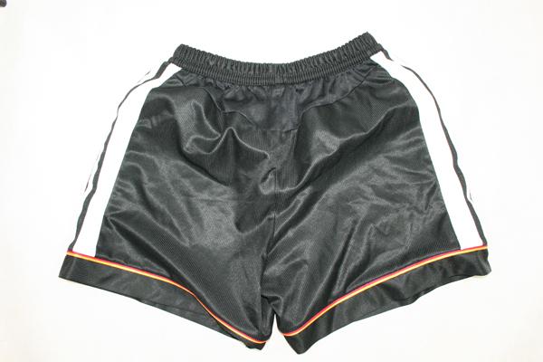 Adidas Deutschland Hose Shorts WM 1998 DFB Schwarz Heim