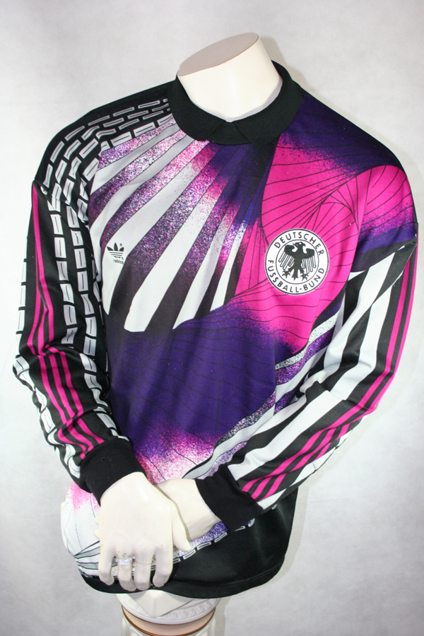 ADIDAS 90S TORWART Trikot Shirt Jersey Goalkeeper Retro