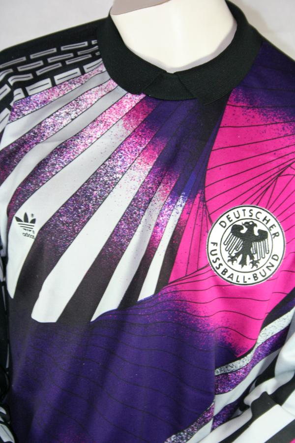 Adidas Deutschland Torwart Trikot 1 Bodo Illgner WM 1990 DFB