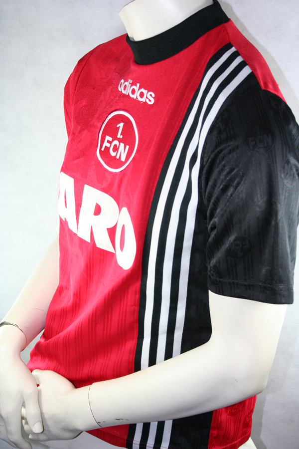 Adidas 1.FC Nürnberg Trikot 7 Michael Wiesinger 199798 Aro