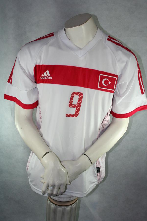 TÜRKEI TRIKOT JACKE Gr L adidas Nationalmannschaft Turkey