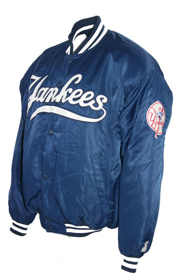 New Yankees York Glanz College Starter Jacke Diamond 4ARLj5