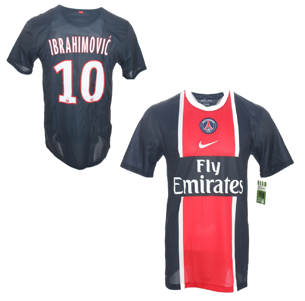 the cheapest save off exquisite style Nike Paris St. Germain Trikot 10 Zlatan Ibrahimovic home ...