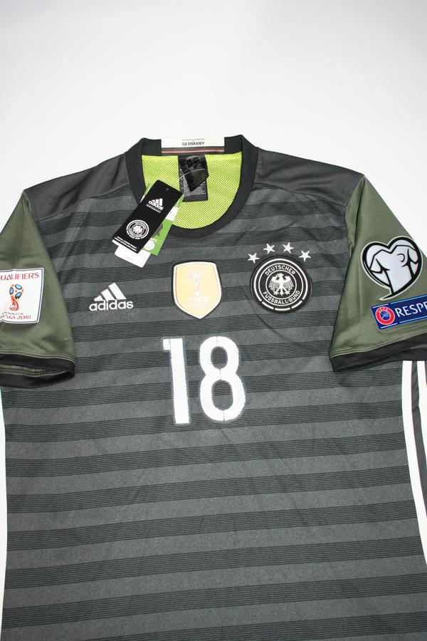 Adidas Deutschland Trikot 18 Joshua Kimmich Quali WM 2018