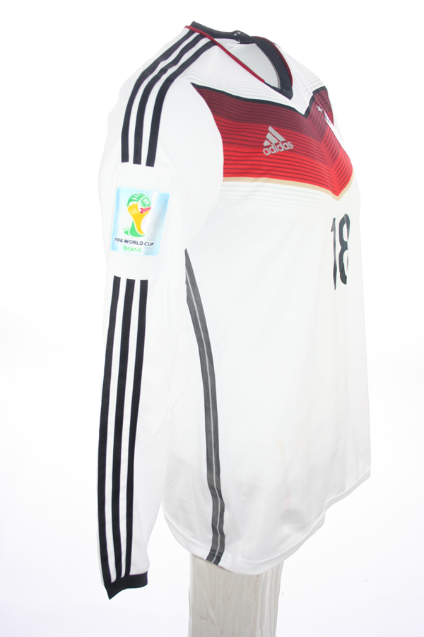 Adidas Deutschland Trikot 18 Toni Kroos WM 2014 DFB Heim