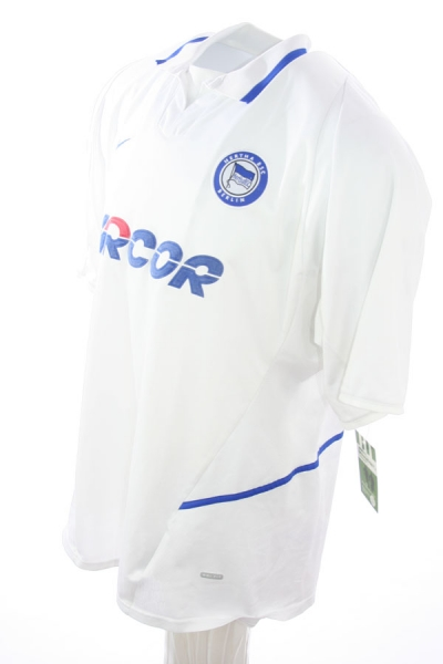 Nike Hertha BSC Berlin jersey 11 Fredi Bobic 2002/03 Arcor away white men's XL/XXL