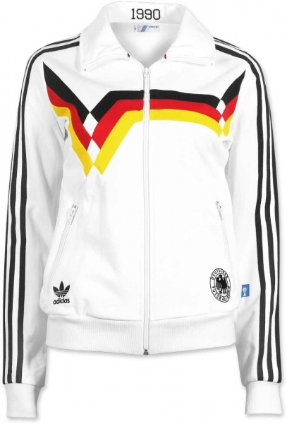 Adidas Germany track top jacket World Cup 1990 Adidas jersey