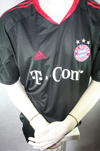 Adidas FC Bayern Munich jersey 10 Makaay 2004/05 CL T-mobile black men's L (B-Stock)