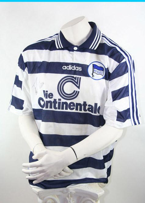huge discount 0516a e61e2 Adidas Hertha BSC Berlin Trikot 1997/99 Continentale Herren M oder XL
