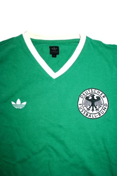 Adidas Germany World Cup T shirt shirt jersey 1974 Gerd