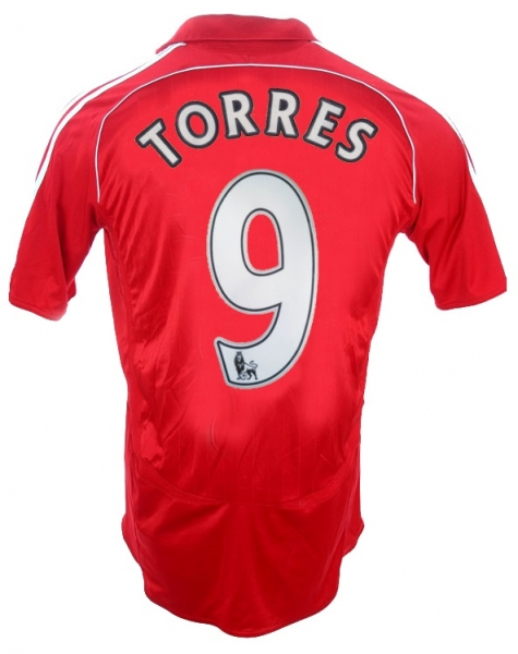 Adidas FC Liverpool jersey 9 Fernando Torres 2006-08 this is anfield home men's XL
