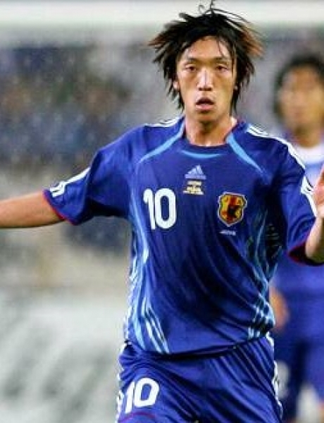 Adidas Japan jersey 10 Shunsuke Nakamura  2006 blue home men's L or 2XL/XXL